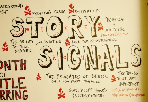 Story Signals Mike Rohde Interview Sketchnotes