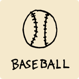 Baseball Visual Vocabulary - sketchnoting visual note taking doodling