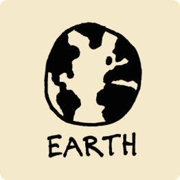 Earth Visual Vocabulary - sketchnoting visual note taking doodling
