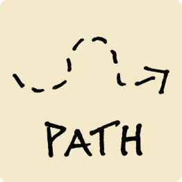 Path Visual Vocabulary - sketchnoting visual note taking doodling