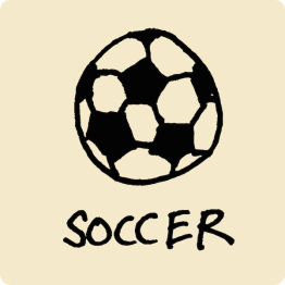 Soccer Visual Vocabulary - sketchnoting visual note taking doodling
