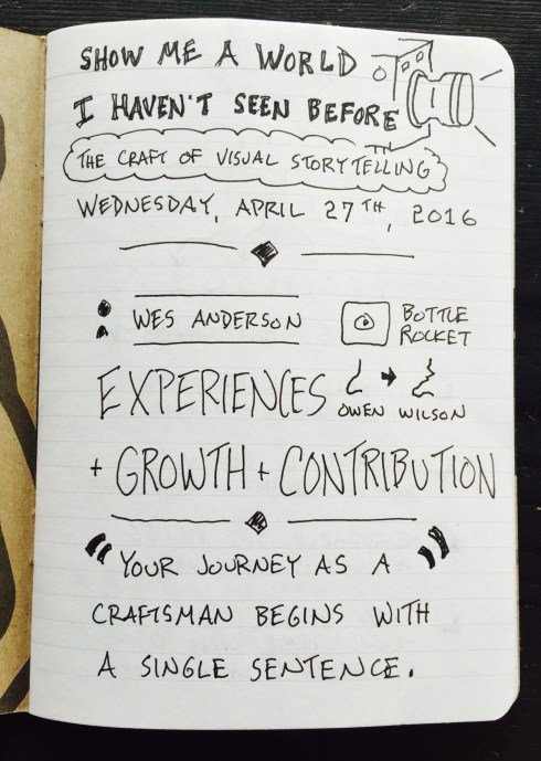 Sketchnotes of Barry Braverman Workshop (1)