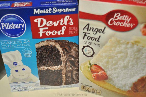 Chocolate Angel Food Mug Cake / The Grateful Girl Cooks!