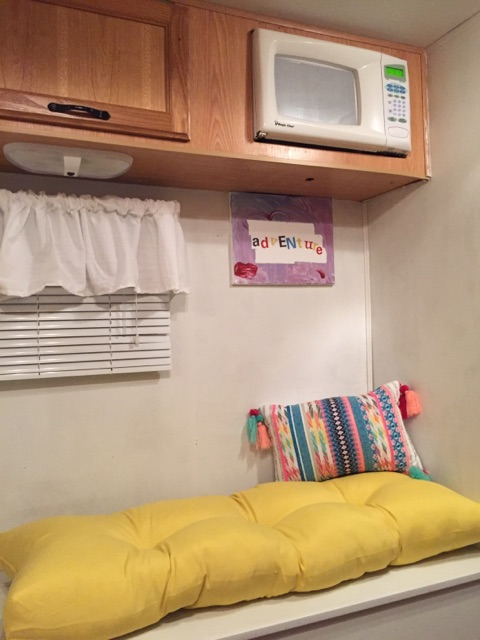 Interior Camper Redo  RV Remodel on a Budget