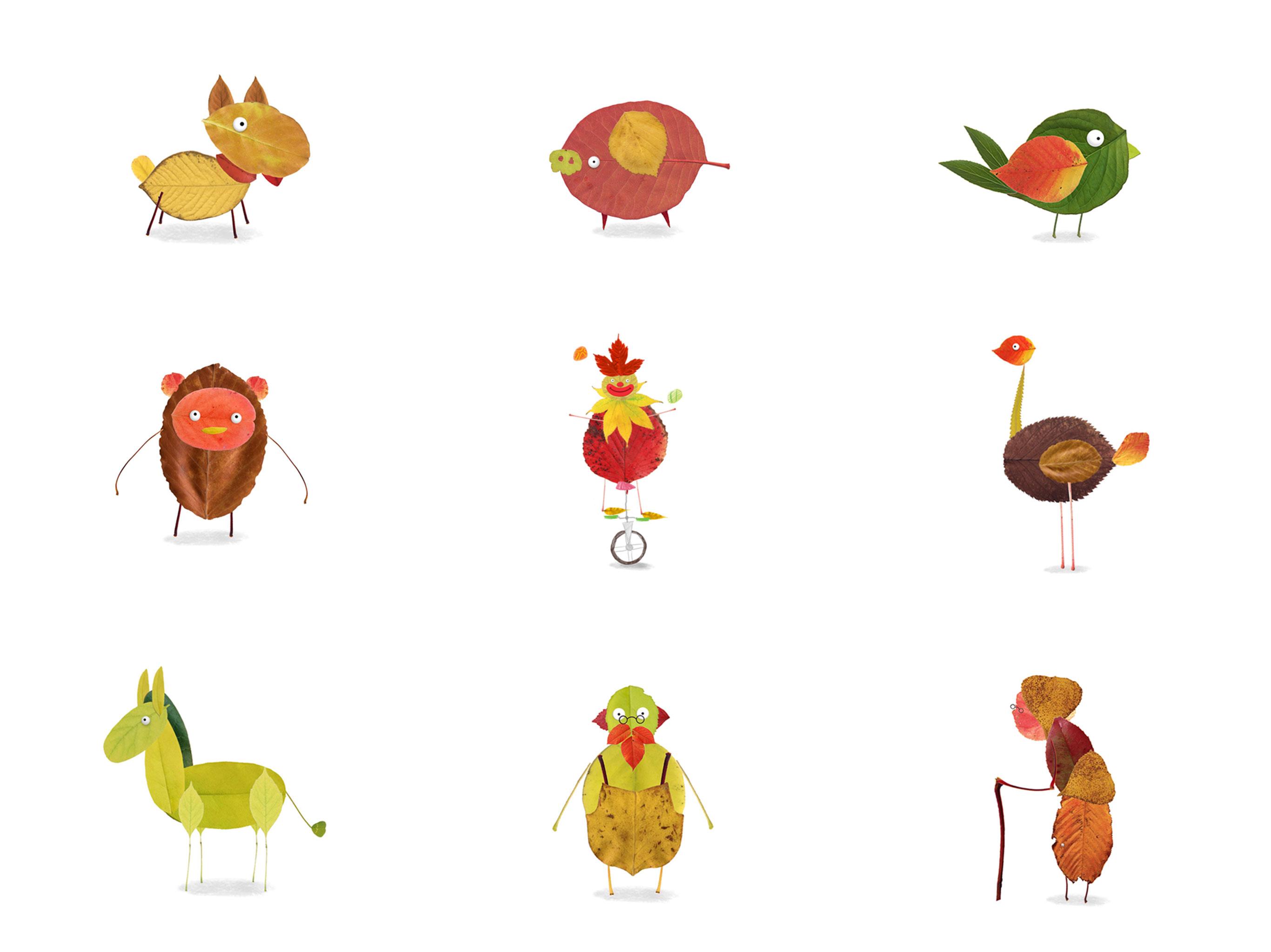 Labo Leaves 18 Leaf Crafts Amp Activities For Kids 3