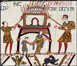 GENOCIDE OF THE NORTH OF BRITAIN (BAYEUX TAPESTRY)