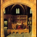 St Jerome in his Study, 1475 Antonello da Messina National Gallery London