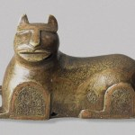 Persian cat figure 12-13th C