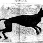 Agnes Bowker's Cat 1569, cat in middle ages art