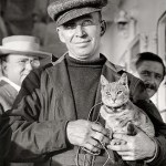 Kiddo the cat and Melvin Vaniman cats in history