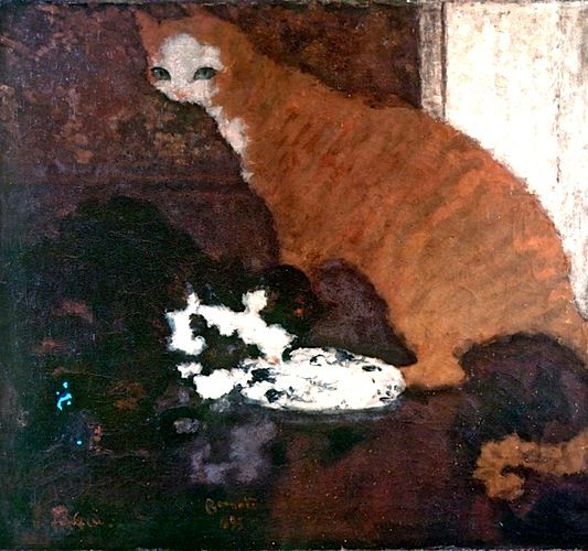 Pierre Bonnard 1867 1947 French THE GREAT CAT