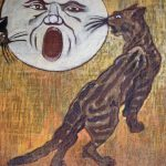 Cats and Moon, Theophile Steinlen