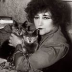 Colette and cat, famous cat lovers-writers