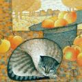 Autumn Cat Natalya Trubina