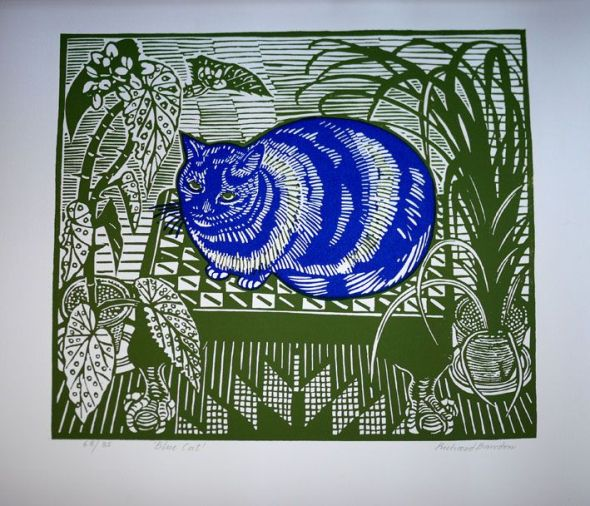 Blue Cat, Richard Bawden