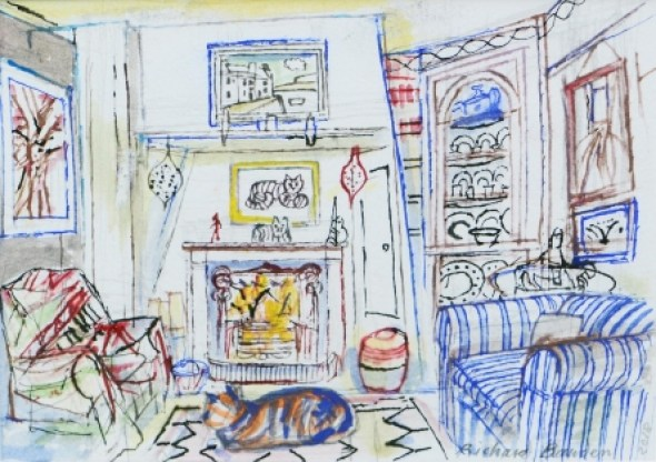 By the Fire, Richard Bawden