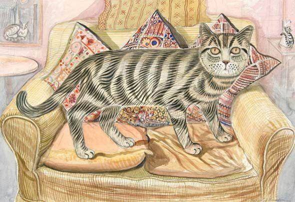 Favourite Cat, Richard Bawden