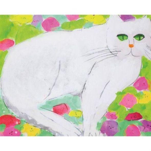 Walasse Ting - White Pussy