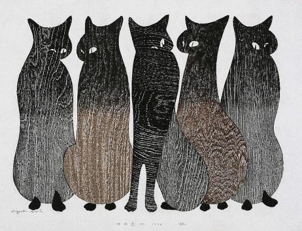 Kiyoshi Saito, Line Up of Cats