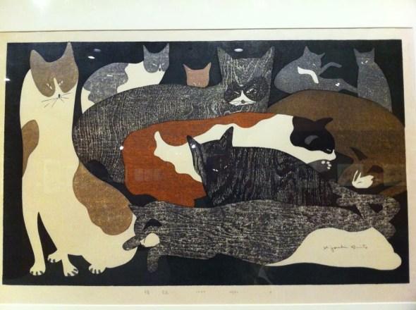 Kiyoshi Saito, Multi Colored Cats