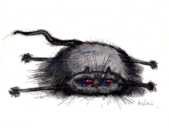 Black Cat, Ronald Searle