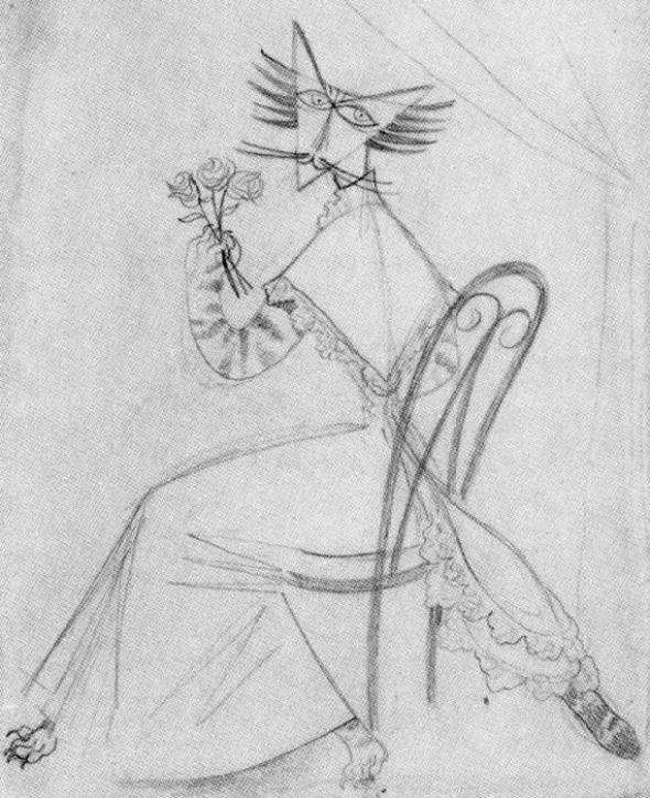 Cat Lady Remedios Varo (1908-1963, Spain)