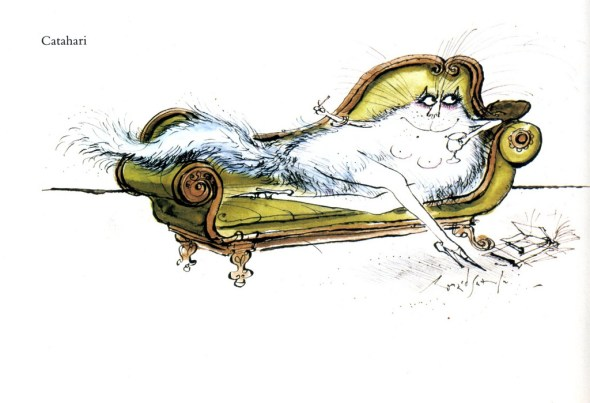 Catahari, Ronald Searle