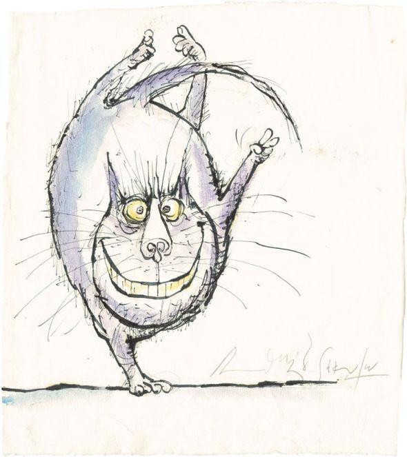 Dancing Cat, Ronald Searle