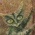 Remedios Varo, Detail, The Fern Cat