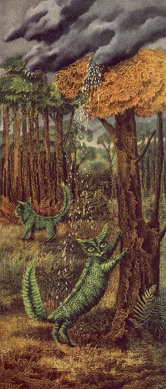 Remedios Varo, The Fern Cat