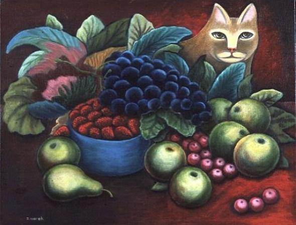 Cat and Fruit, Jerzy Marek