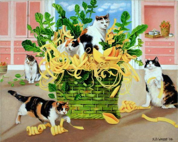 EB Watts, Cats and Pasta
