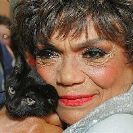 Eartha Kitt and Black Cat 3