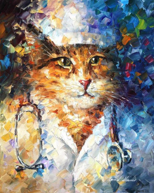 Doctor Miau, Leonid Afremov