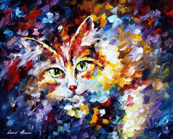 Leonid Afremov, Cat