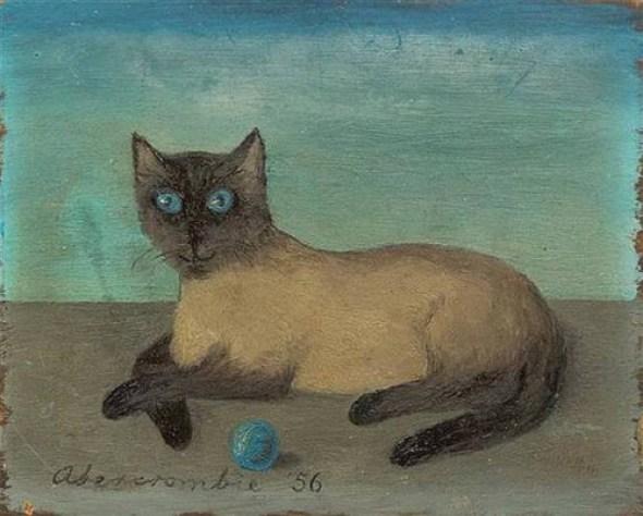 Siamese Cat, 1956, Gertrude Abercrombie