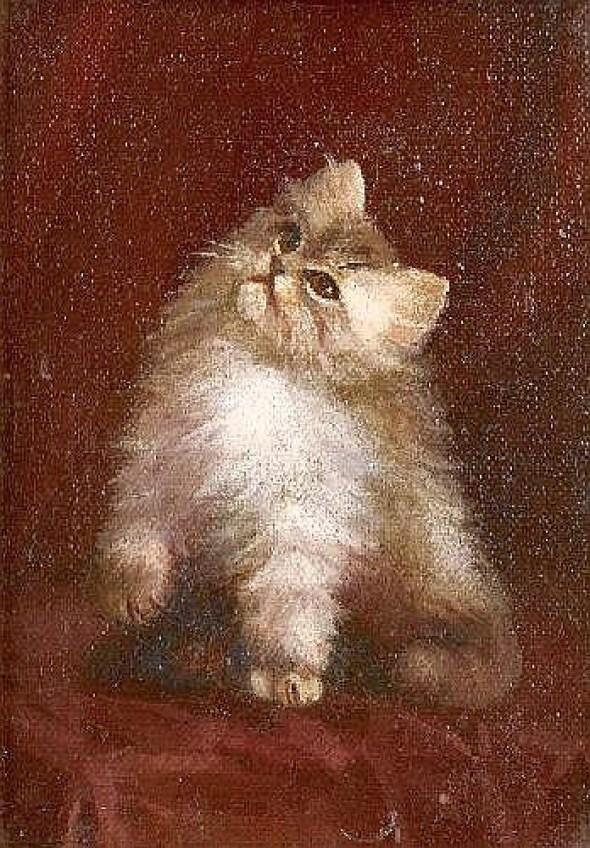 Lilian Chevoit White Cat