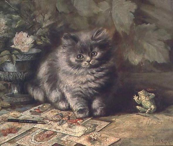 A Portrait of a Kitten, Ada Eliza Tucker