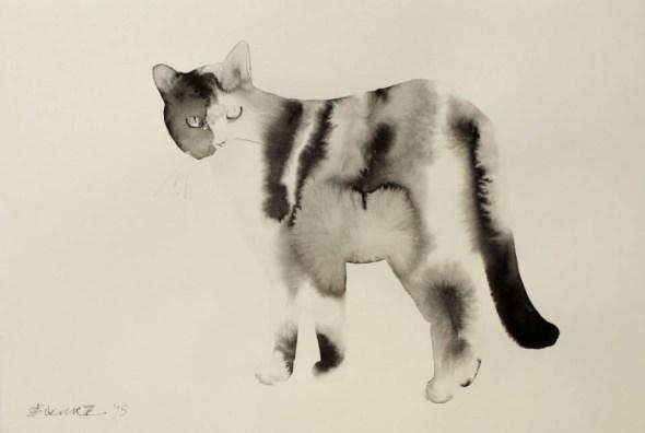 Endre Penovac, Black and White Cat