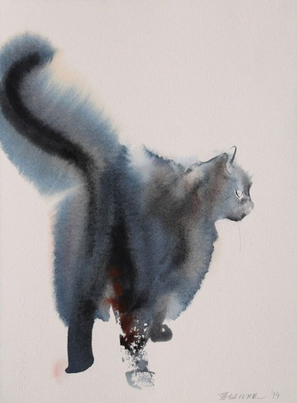 Endre Penovac, Cat with Tail Up
