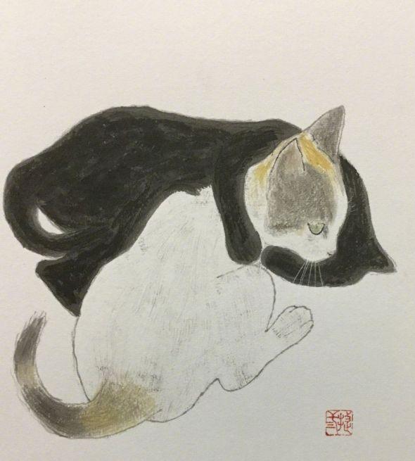 Shozo Ozaki, Black and White Cats