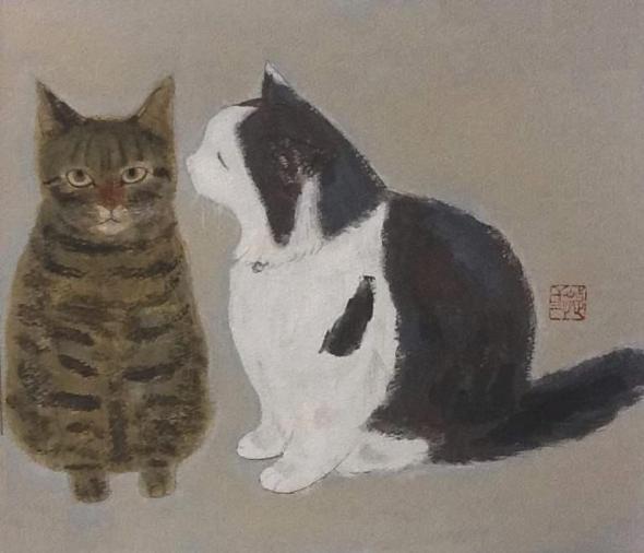 Tuxedo and Tabby