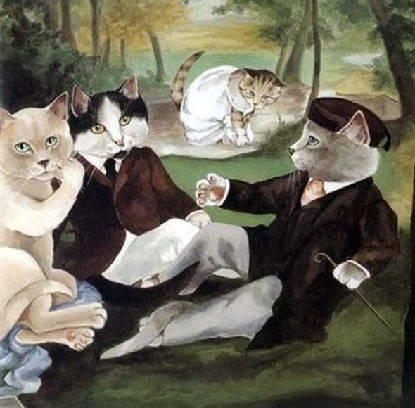 Susan Herbert, 16 Shakespeare Cats, Much Ado about Nothing