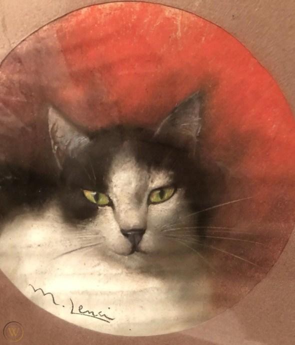 Marino Lenci, Tuxedo Cat