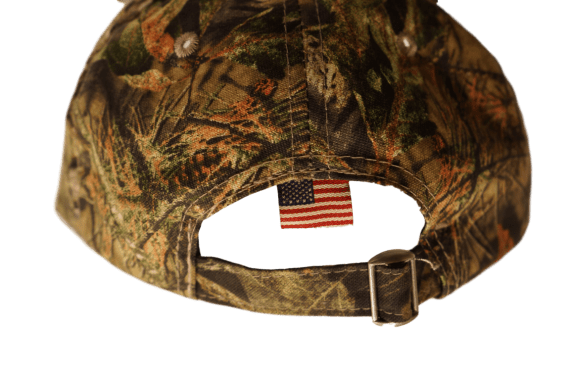 Camo Flag Hat Back
