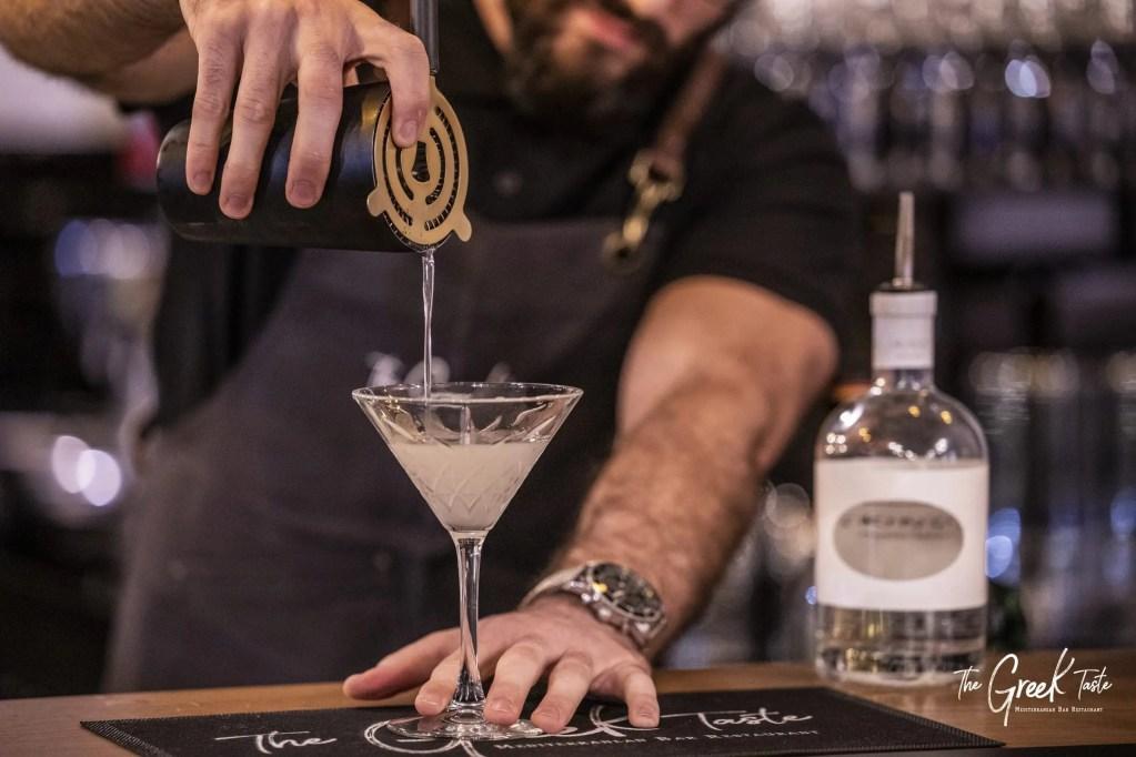 The Greek Taste Cocktail