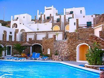 Ios Greece, Ios Island Hotel, Hotel Katerina, Mylopotas ...