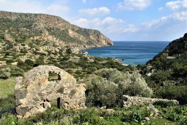 Κρήτη, Λισός, Λιβυκό πέλαγος, Σούγια, Παλαιόχωρα, Υρτακίνα, Έλύρος, Συία, Τάρρα, Ποικιλασσός, Αη Κυρκός, Άνυδροι, Προδρόμι