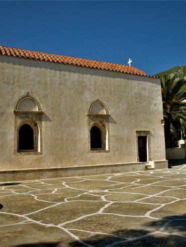 Κοιλάδα Αμαρίου, Ρέθυμνο, Κρήτη, Μονή Πρέβελη