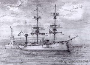 «1900, Ναύαρχος Μιαούλης, Ελληνικό Πολεμικό Ναυτικό, Παύλος Κουντουριώτης, Ατλαντικός ωκεανός, Μεσόγειος Θάλασσα»